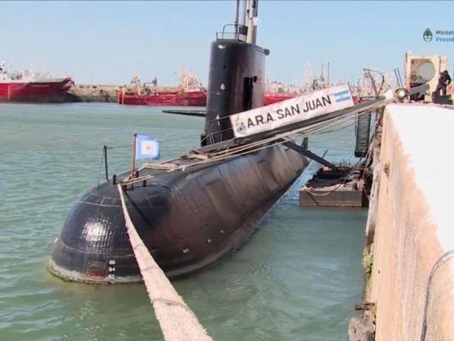 """阿根廷政府成立调查组 调查""""圣胡安号""""潜艇失联事件"""