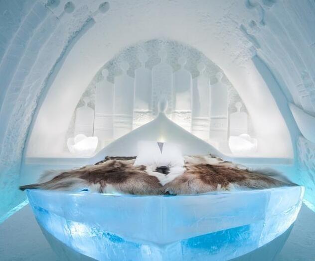 瑞典冰雪酒店彻骨的美
