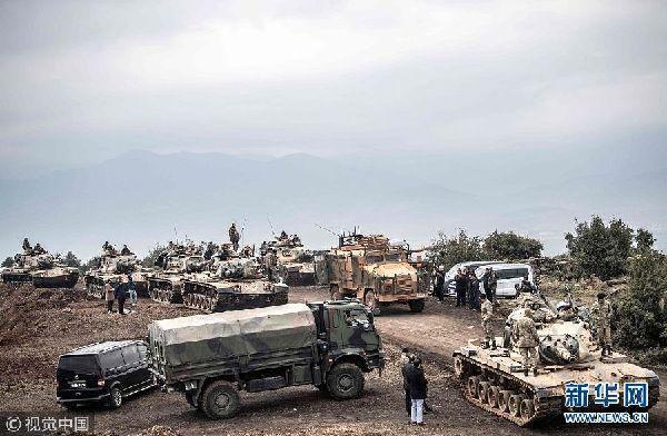 土耳其进攻叙利亚北部