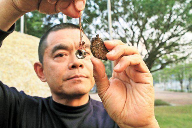 深圳南澳疑发现陨石, 可能是深圳发现的首颗陨石