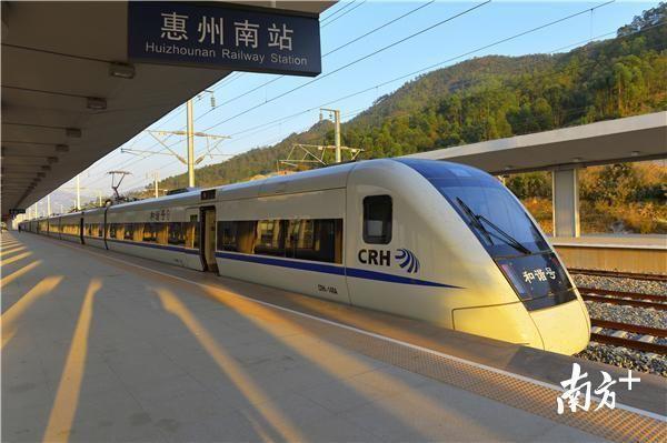 交通大动作!惠州将有5条轨道接广州,8条通深圳