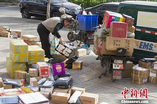 中国快递业对世界快递增长贡献率超过一半