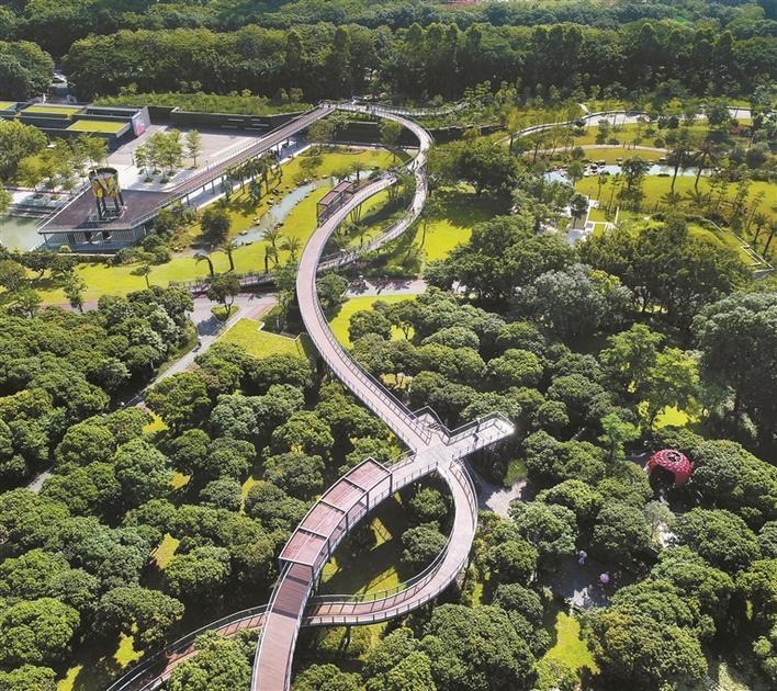 """深圳计划2020年建成""""千园之城"""""""