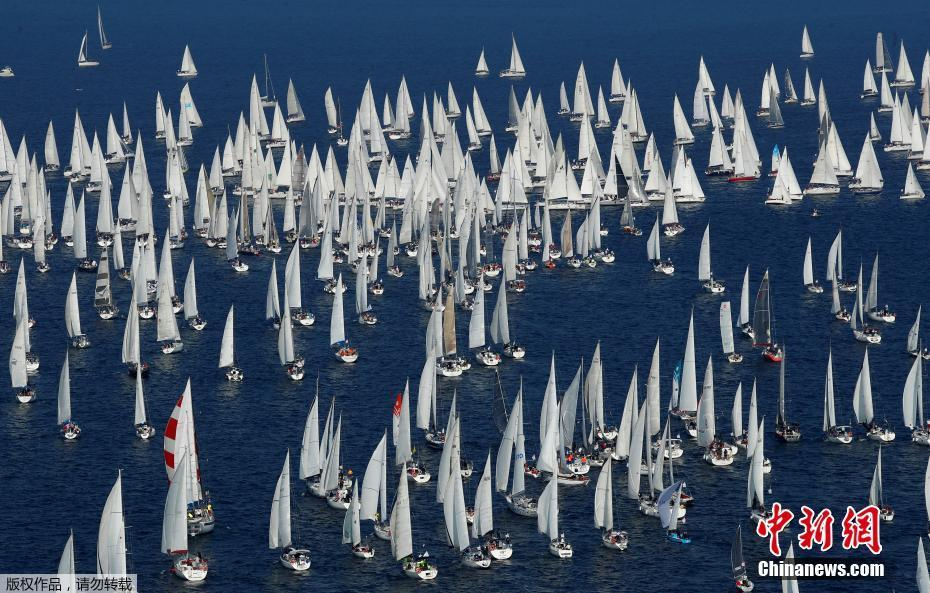 意大利帆船大赛开幕