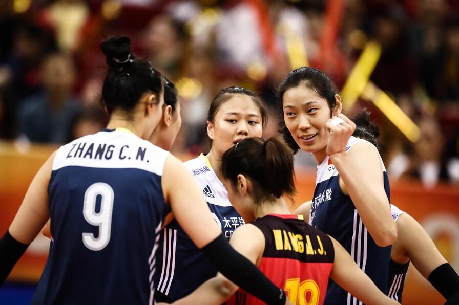 世锦赛中国女排3-1荷兰 获小组第一将战意大利