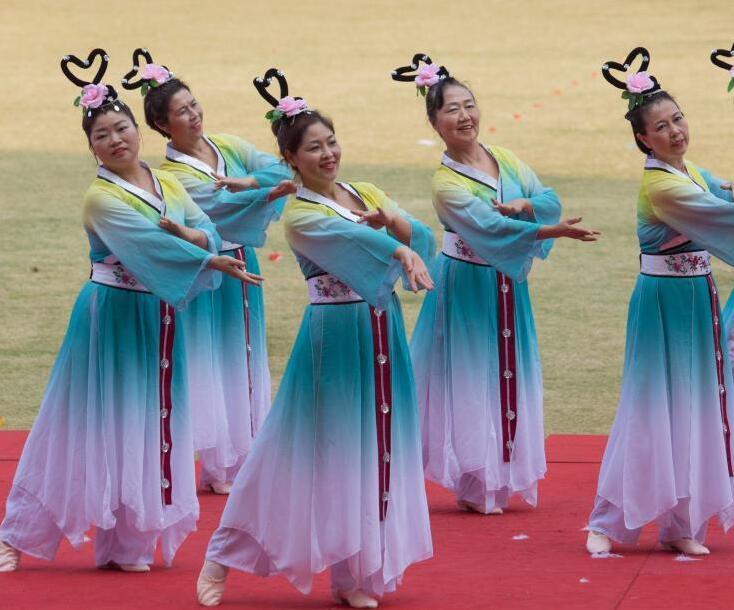 杭州举办千人排舞大赛