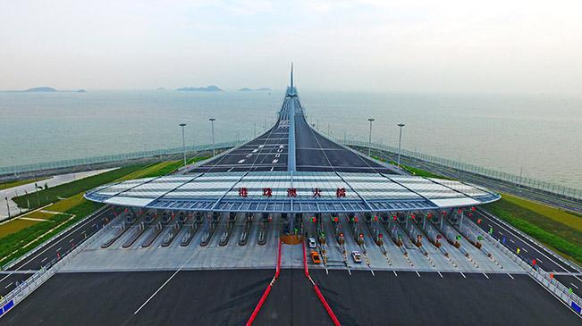 港珠澳大桥正式通车