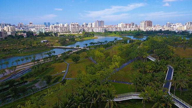 """""""湿地海口""""的生态文明建设实践"""