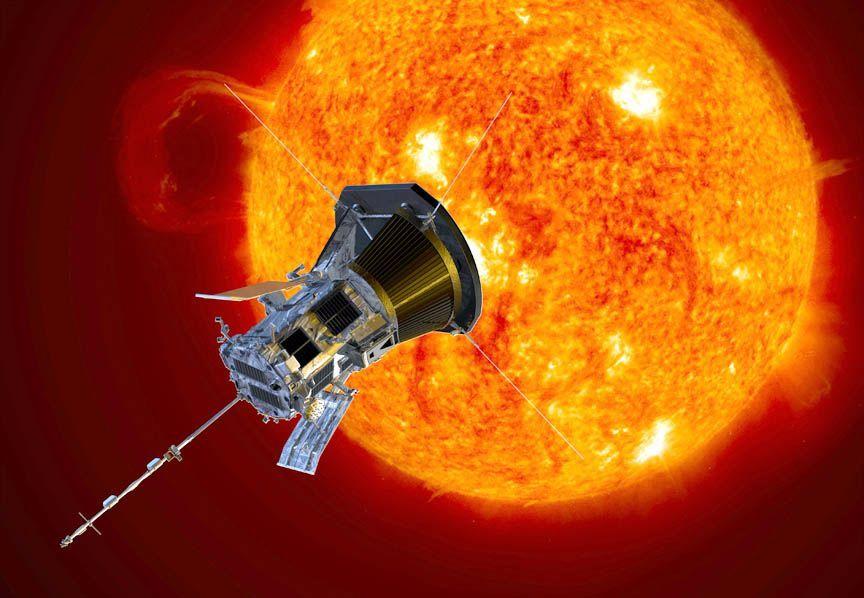 """""""帕克""""即将抵达近日点 成迄今最接近太阳的航天器"""