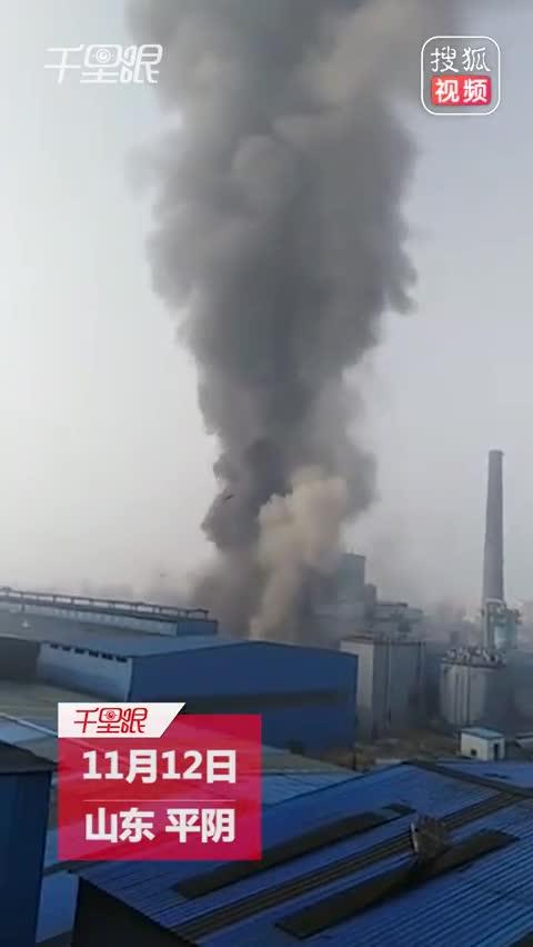 济南平阴县一仓库发生爆炸 事故致6死5伤