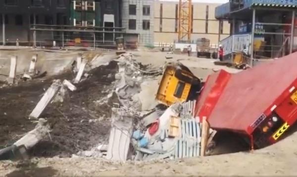 万科公布中山万科城坍塌进展,周边楼栋沉降监测正常
