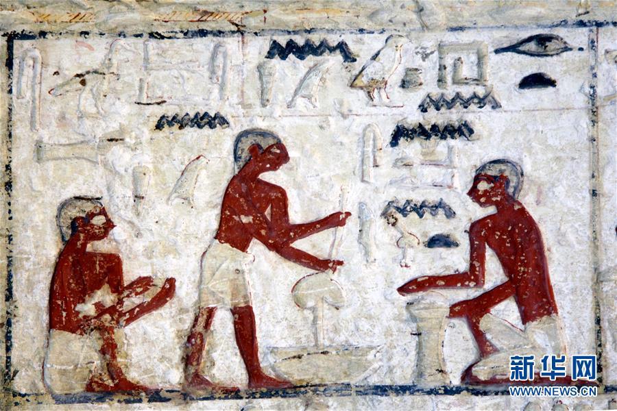 埃及距今4400年祭司墓