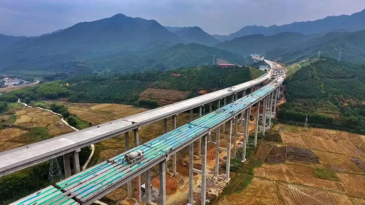 武深高速广东段月底全线贯通,东莞北上至湖北可省1小时