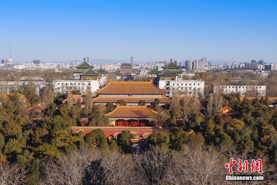 北京中轴线重现真容