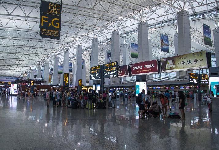 广州白云机场提醒乘机提前2-3小时
