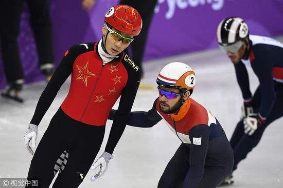 冬奥会小组第二排内道 罚中国4人