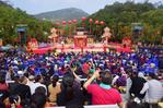 第十五届圭峰之春文化庙会开幕