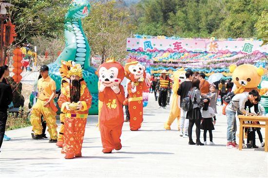 恩平春节前四天接待游客超42万人次