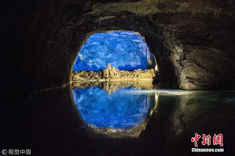 欧洲最大地下湖美如画