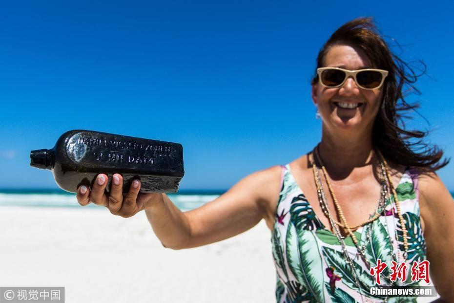 澳洲女子捡到世界最古老漂流瓶 距今已132年