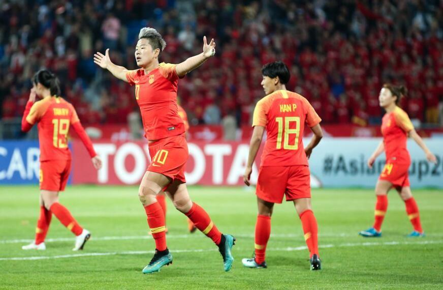 亚洲杯-干就完了!王霜戴帽李影2球 女足8-1约旦