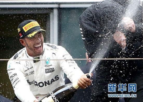 F1上海站:汉密尔顿五次称霸 舒马赫纪录或被改写
