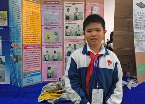 中山一名12岁小学生,已获7个国家专利