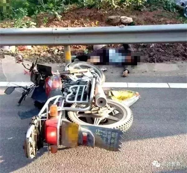 顺德男子骑自行车撞摩托车后离开致人死亡,交警:属肇事逃逸!