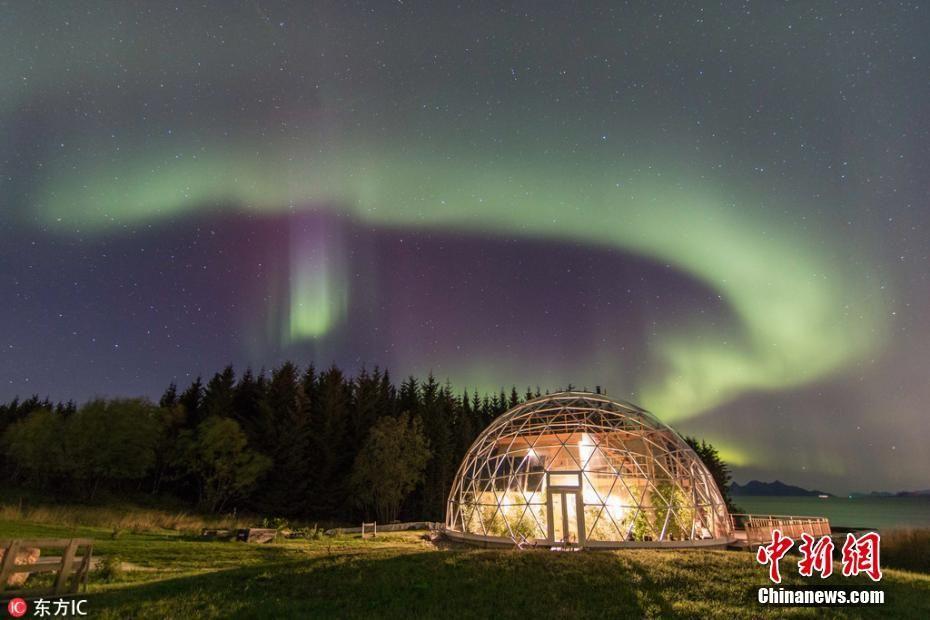 挪威夫妻建生态圆顶屋