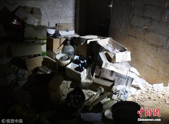 禁化武组织调查团再次进入叙杜马镇 进行采样调查