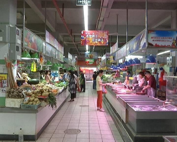 """蓬江区创文新成效:农贸市场""""旧貌换新颜"""""""