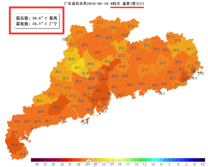 未来几日广东仍以晴热为主 请注意防暑防晒