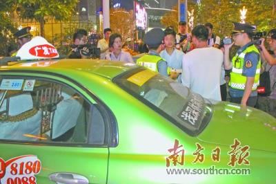 广州出租车拟设新规1年拒载3次吊证
