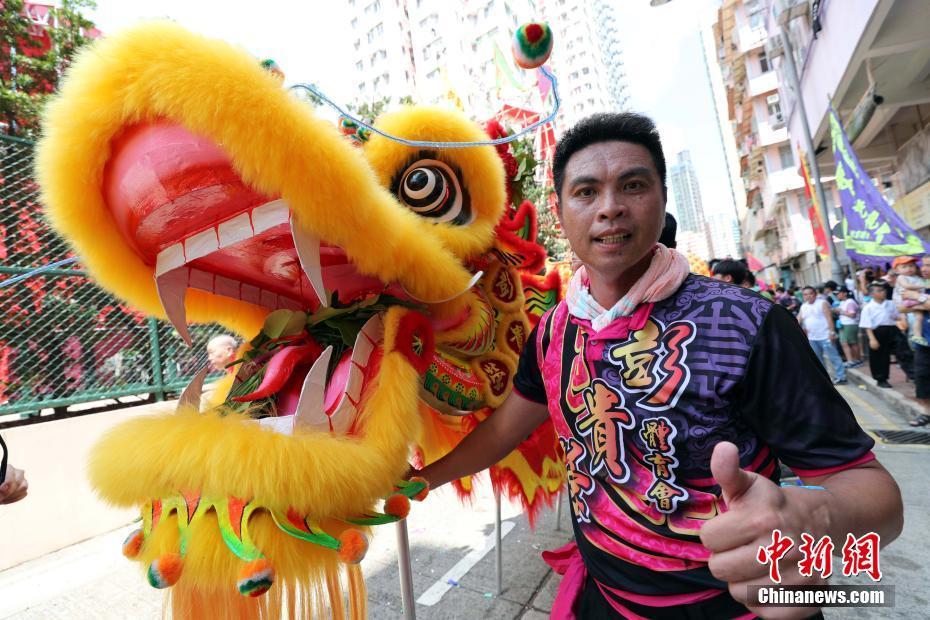 香港民俗飘色巡游