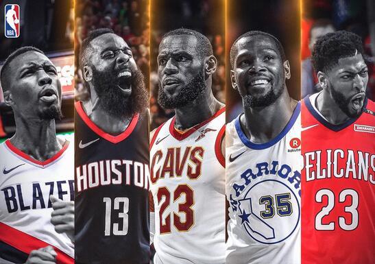 NBA最佳阵容出炉