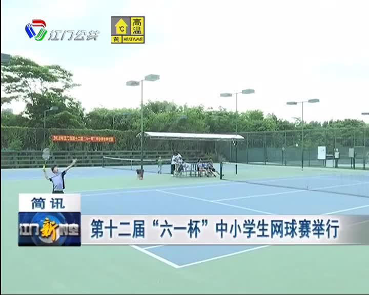 """第十二届""""六一杯""""中小学生网球赛举行"""