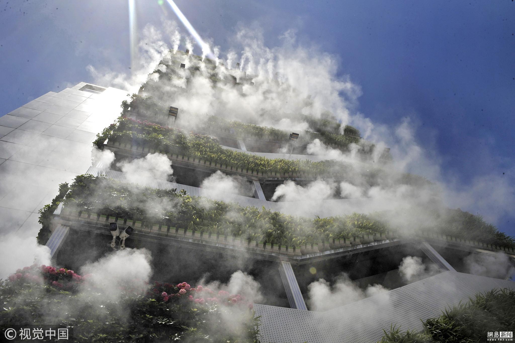 西安10层高楼成网红