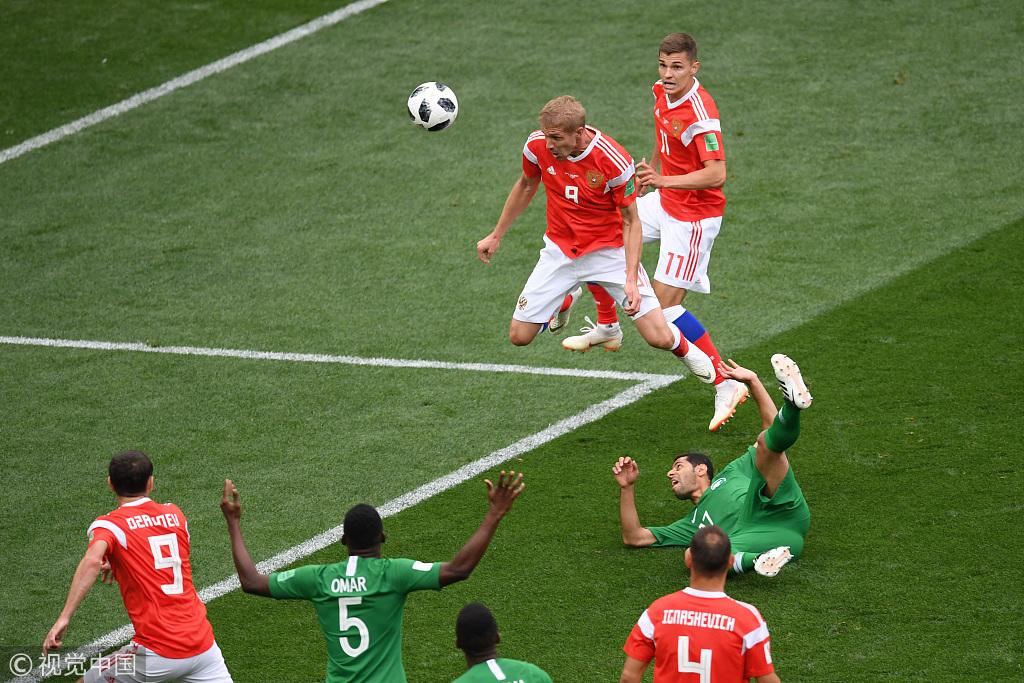 俄罗斯5-0沙特