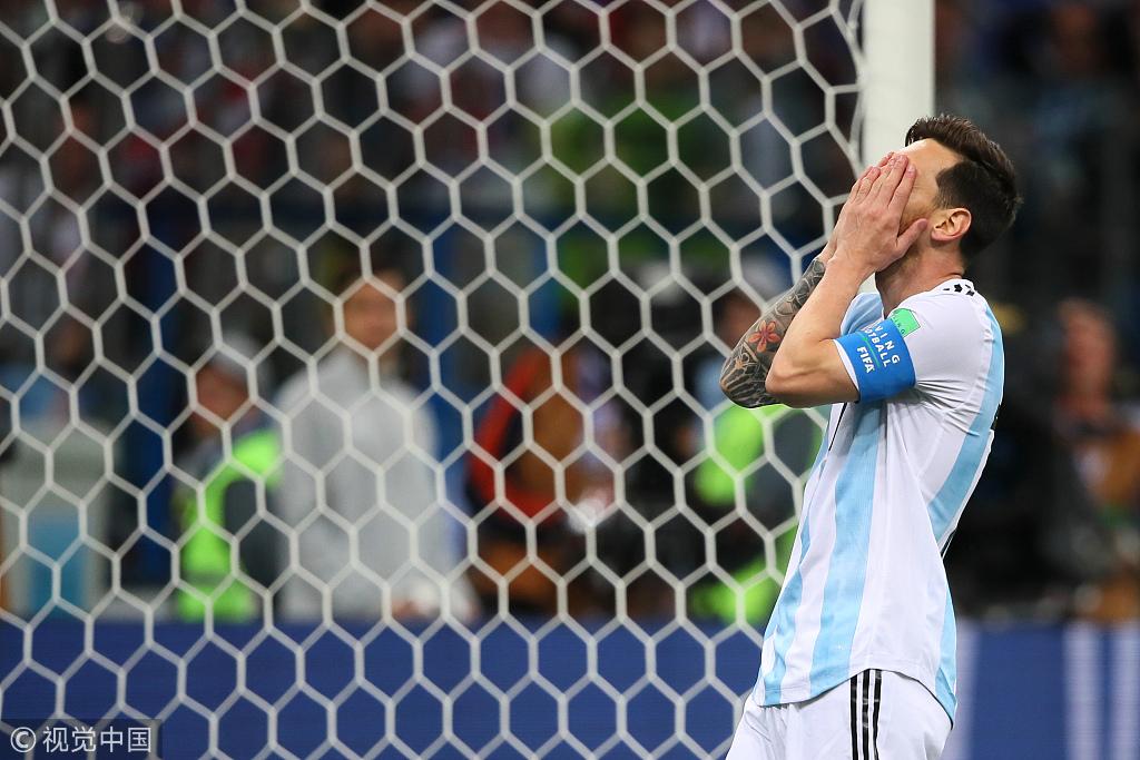 魔笛世界波门将超低级失误 阿根廷0-3濒临出局