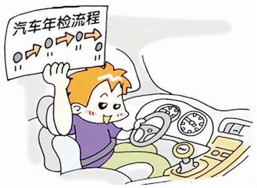 """广州首试年审合格标志""""先发后审""""模式 车辆年审人均少等半小时"""