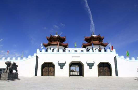 京北草原大汗行宫——花的季节