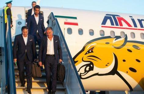 世界杯倒计时9天,第一支参赛队已飞抵俄罗斯!