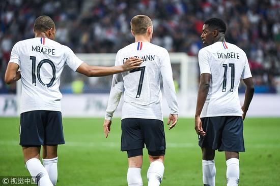 世界杯32强身价:法国10.8亿独霸 等于118个巴拿马!
