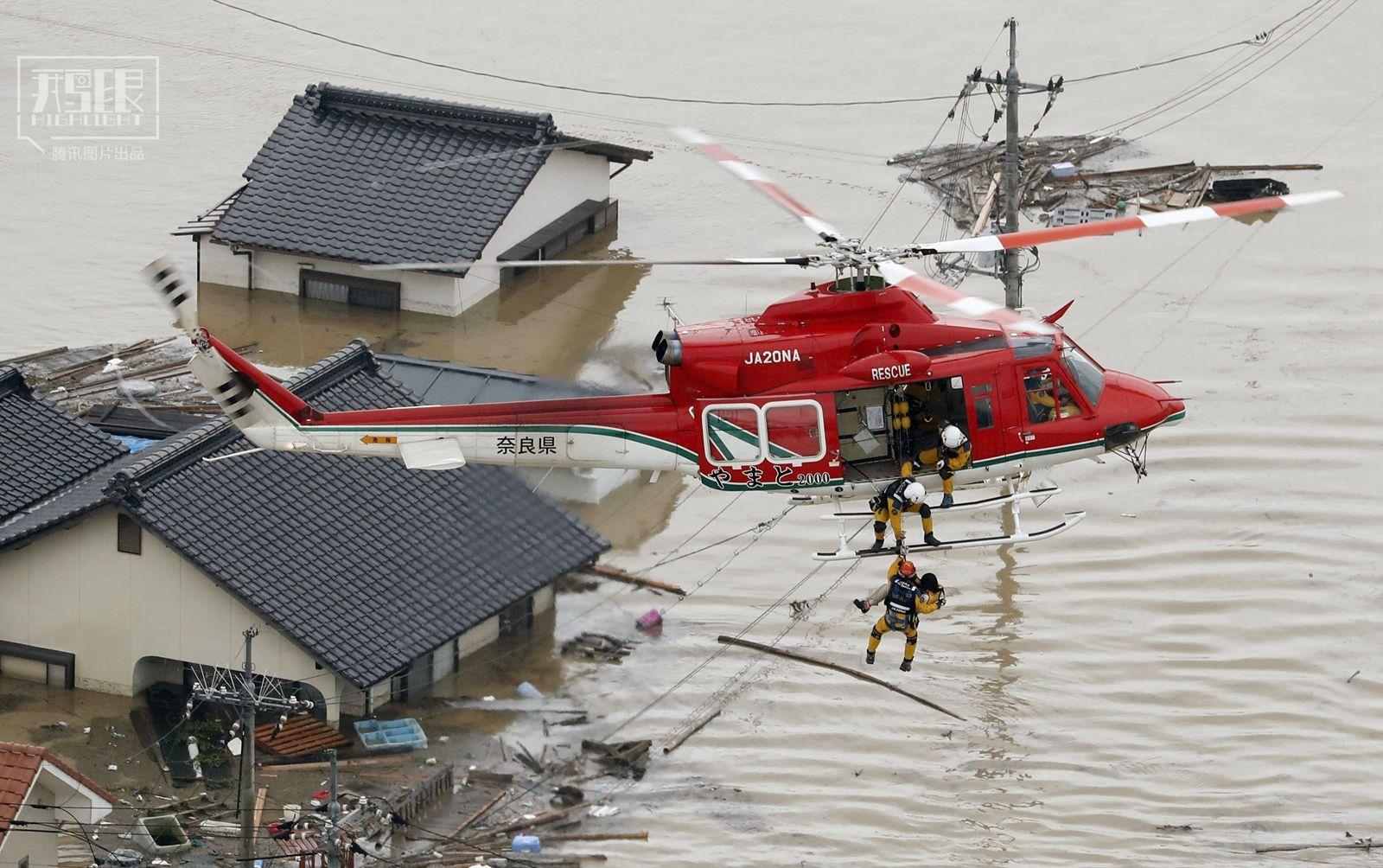 日本暴雨致158人死亡