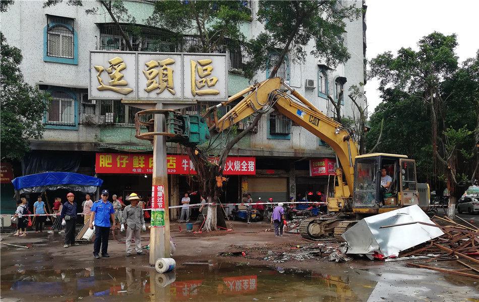 三埠街道:正式开启拆违专项行动