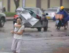 今起三天粤中西部有强降水和大风