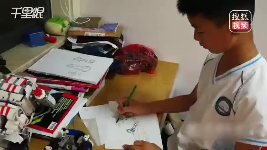 浙江11岁男生仅花费620元 造出一辆卡丁车