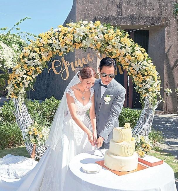 郑嘉颖陈凯琳结婚行礼全过程曝光,一众TVB小生、花旦到场见证