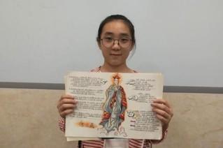 初中女生手绘读书笔记
