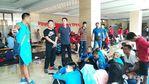 副区长张斌慰问我区参加省运会教练员和运动员